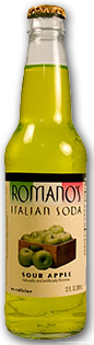 Romanossoda sour apple